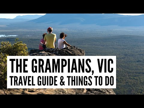 Grampians Travel Guide - The Big Bus tour and travel guide