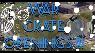 war crate openings we get a 5 star twd rts