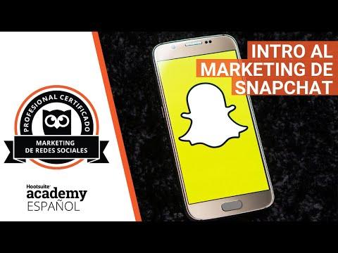 Intro al Marketing de Snapchat