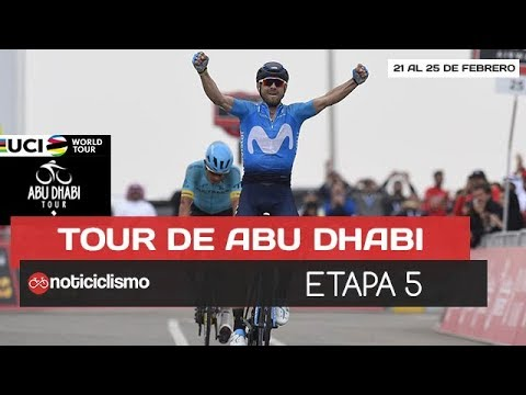 Tour de Abu Dhabi 2018 [Etapa 5] VALVERDE se proclama como CAMPEÓN