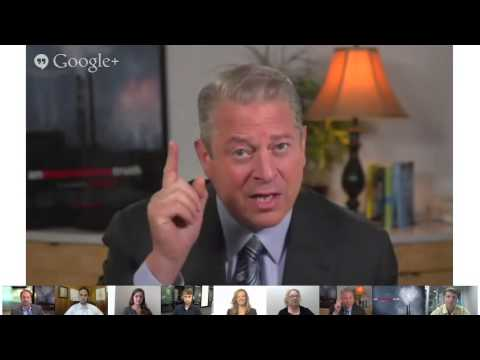 Google+ Conversation with Al Gore about Combating Climate Change - Hangout on Air