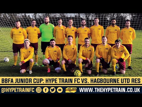 BBFA Junior Cup (Last 16) Match Highlights: Hype Train FC vs. Hagbourne United Reserves