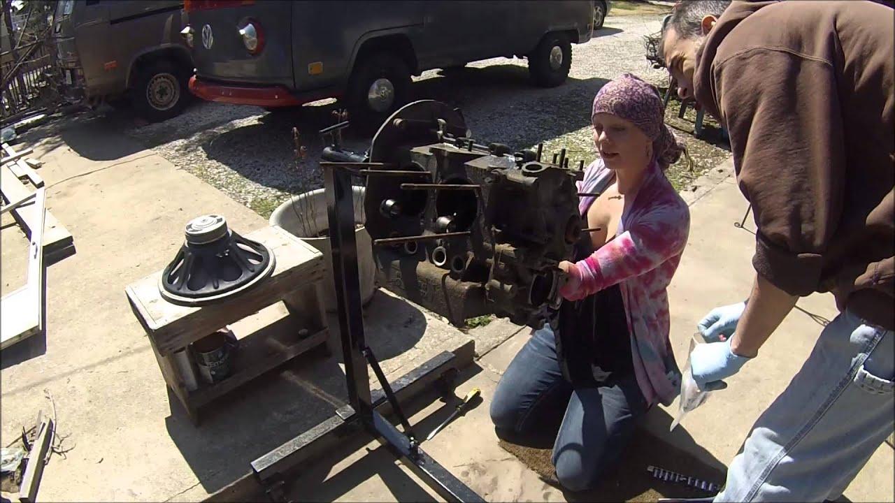 Vw Engine Tear Down Rebuild Part 2 Youtube