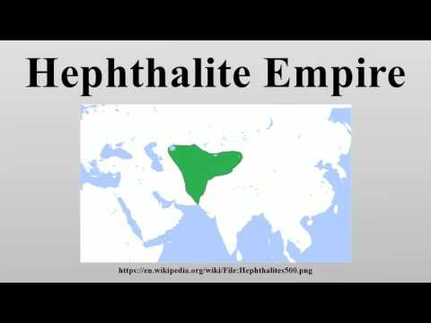 Hephthalite Empire