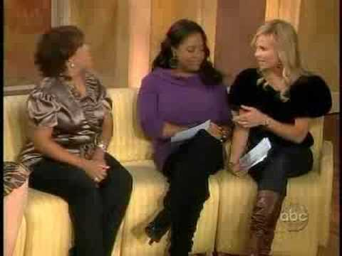 Chandra Wilson on The View!