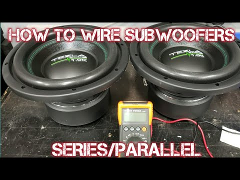 HOW TO WIRE SUBWOOFERS series/parallel - YouTube