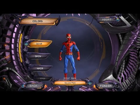 DC Universe Online: Spider-Man (Civil War, Homecoming) Character Creation + BONUS!