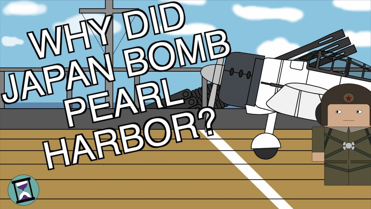 Why did Japan Attack Pearl Harbor? (Short Animated Documentary)