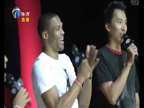 Sep 1 - TJTV Sports - Sports News - Westbrook China Tour