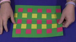 Construction Paper Weaving