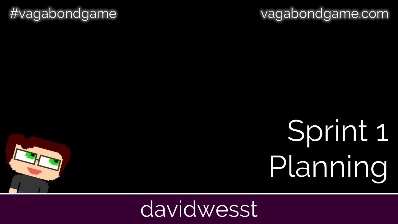 Thumbnail images for #VagabondGame Sprint 1 Planning video