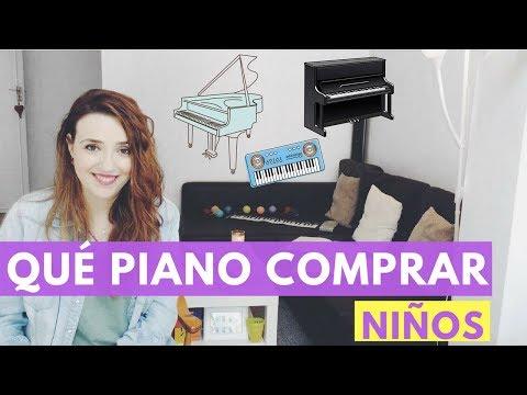 Qué piano comprar para aprender