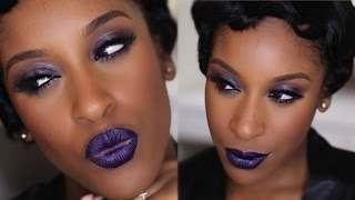 Black History: Roaring 20s Makeup | Makeup Game On Point