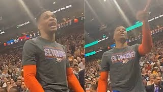 Russell Westbrook Threatens Fan & His Wife vs Utah Jazz In Heated Argument! Thunder vs Jazz