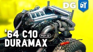 Will It Start? Twin Turbo LB7 Duramax + LS Intake #TTDmaxC10 [EP12]