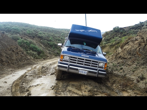 Crashed the Van - Baja or Bust 70