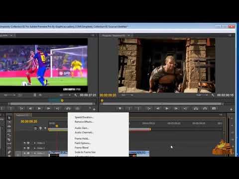 دورة Adobe Premiere Pro CS6 الدرس السادس ـ إستبدال مقاطع الفيديو