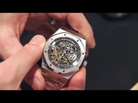 Audemars Piguet Royal Oak Double Balance Wheel Openworked Watch Hands-On | aBlogtoWatch