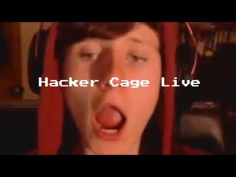 WHEN JACKSUCKSATLIFE DOES A HACKER CAGE LIVE (UnCut)