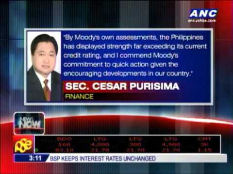 Purisima to Moody's: Hurry up with upgrade