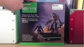 Hauppauge HD PVR 2 Gaming Edition Unboxing