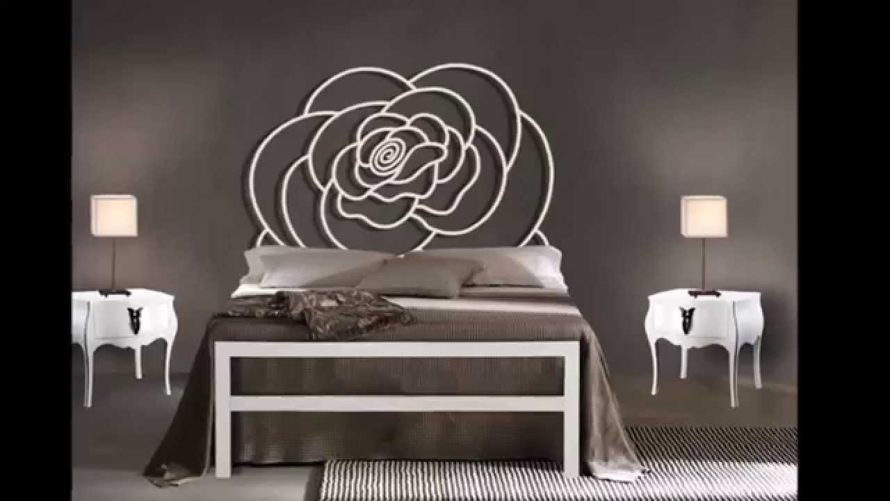 lits modernes en m tal id es pour la d coration chambre coucher youtube. Black Bedroom Furniture Sets. Home Design Ideas