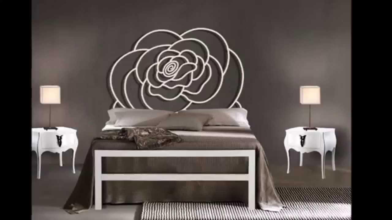 lits modernes en metal idees pour la decoration chambre a coucher