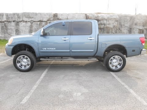 Sold 2012 Nissan Titan Sl Crewcab 4x4 6 Quot Lift Kit 16k At