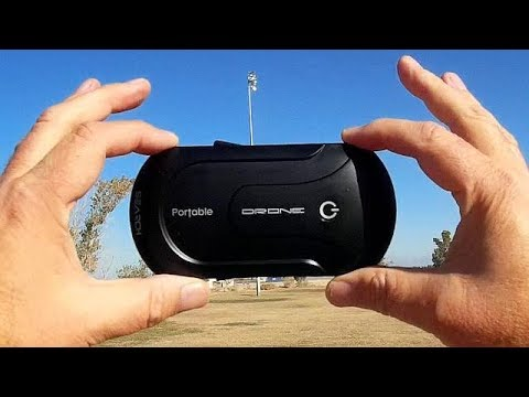 2MP Selfie FPV Folding Camera Drone Flight Test Review