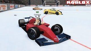 Formule 1 Arabasi ile Efsane Kapôyoruz!! Panda ile Roblox Car Crushers 2
