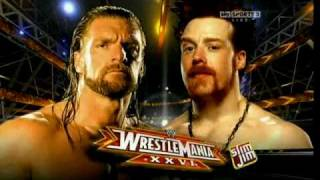 WWE WrestleMania 26 Match Card