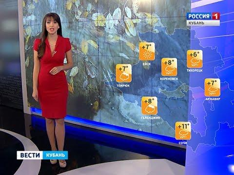 В Краснодаре завтра будет пасмурная погода