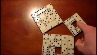 Теорема Пифагора(Наглядный способ доказательства теоремы Пифагора., 2014-04-06T13:56:00.000Z)