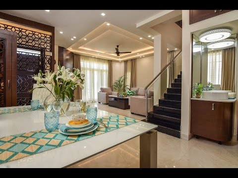 Shwetha & Binod's JR Greenwich Villa Interiors | Bangalore India | Editor's cut Ver.