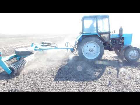 Уплотнитель почвы (Каток кольчато-зубчатый) УПП-6