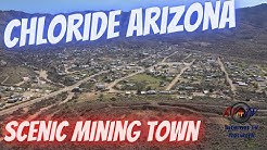 Chloride Arizona Historic Mining Town - April 2020
