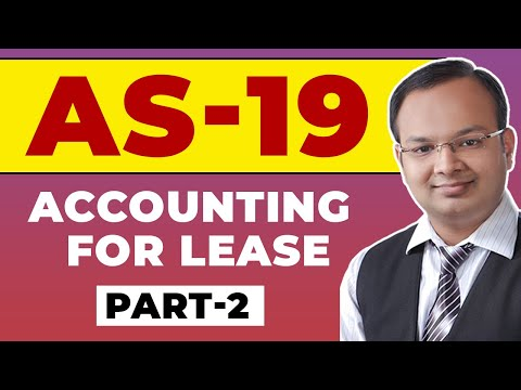 #2   AS - 19   Accounting for lease   Sale and Lease back   Numerical of AS-19