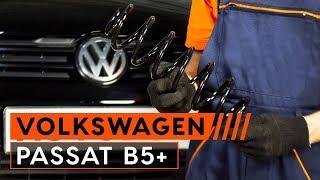 Hoe de voor wielophanging springveer vervangen op een VW PASSAT B5+ [HANDLEIDING]