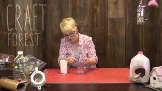 Upcycled Crafts: Bird Feeders & Bird Houses