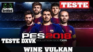 Pes 2018 DXVK // Wine 3.5 Staging via Lutris
