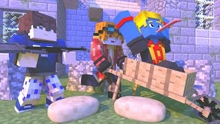 Minecraft : TIME DOS PEDREIROS - MICRO BATTLES ‹ MayconLorenz ›