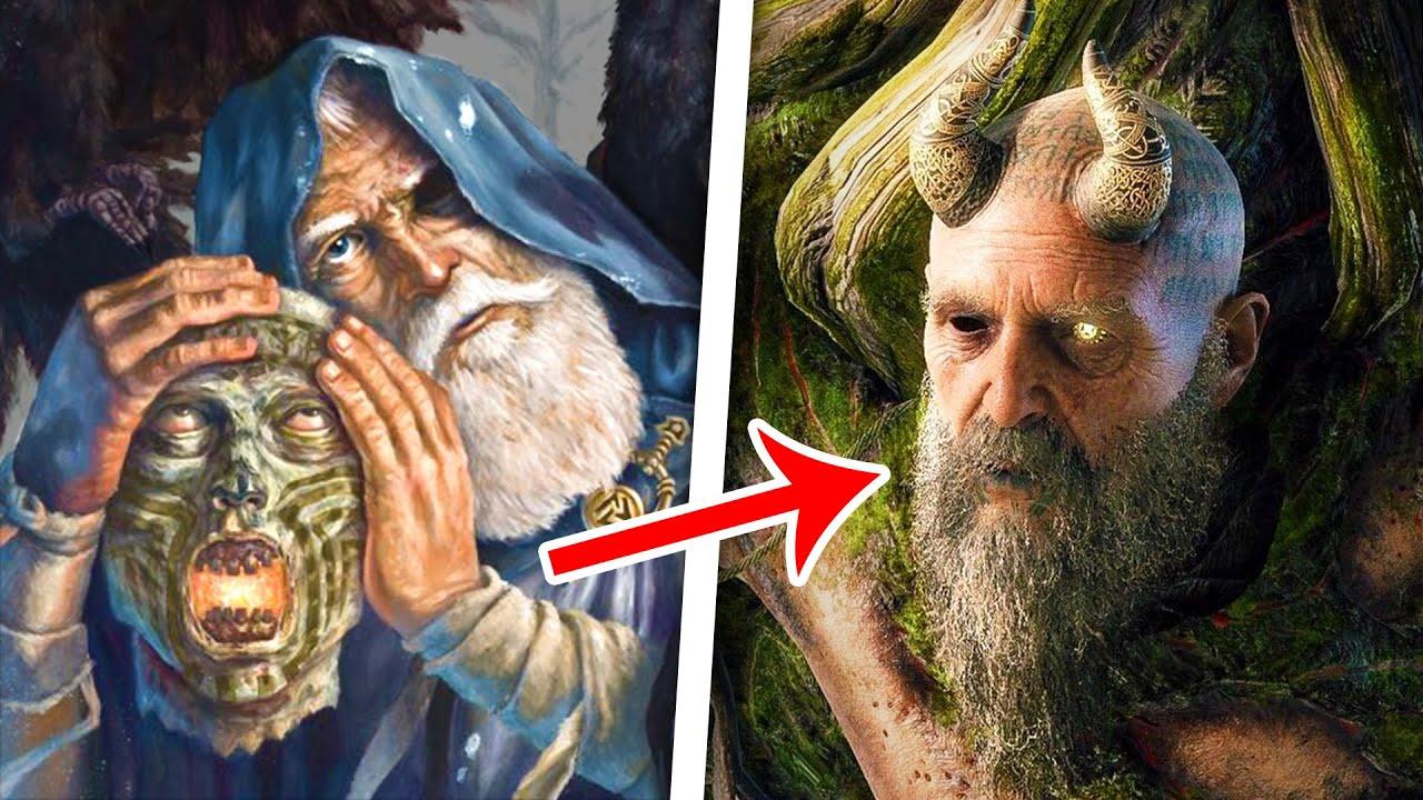 The Messed Up Origins of Mimir, Smartest Man Alive   Norse Mythology Explained