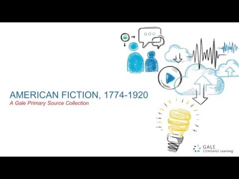 About American Fiction, 1774-1920