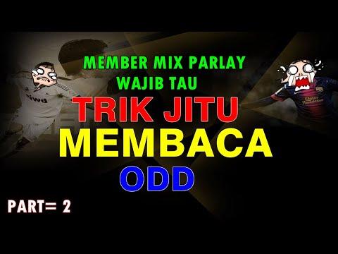 Tutorial Membaca Odd Over / Under Mix Parlay Part= 2
