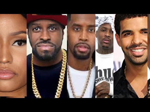 Nicki Minaj Funk Flex END BEEF expose safaree, YG kicked off flight, Drake Jay Z Cool? Drake streams