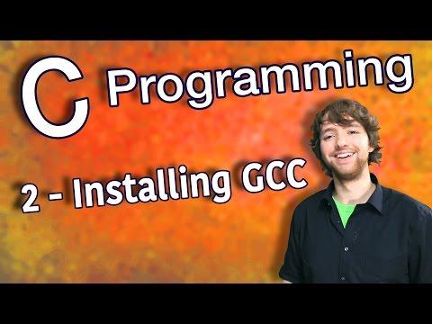 C Programming Tutorial 2 - Installing GCC