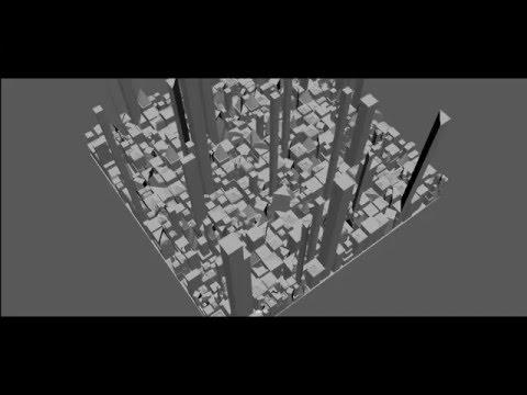 Procedural City Generator Python/Maya