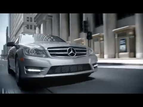 New mercedes benz sedan c class commercial 2014 youtube for New mercedes benz commercial