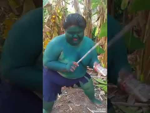 Kid hulk dancing Tchococita Song 😂