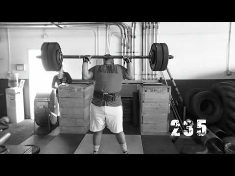 Deadweight Strength Axle Clean and Press